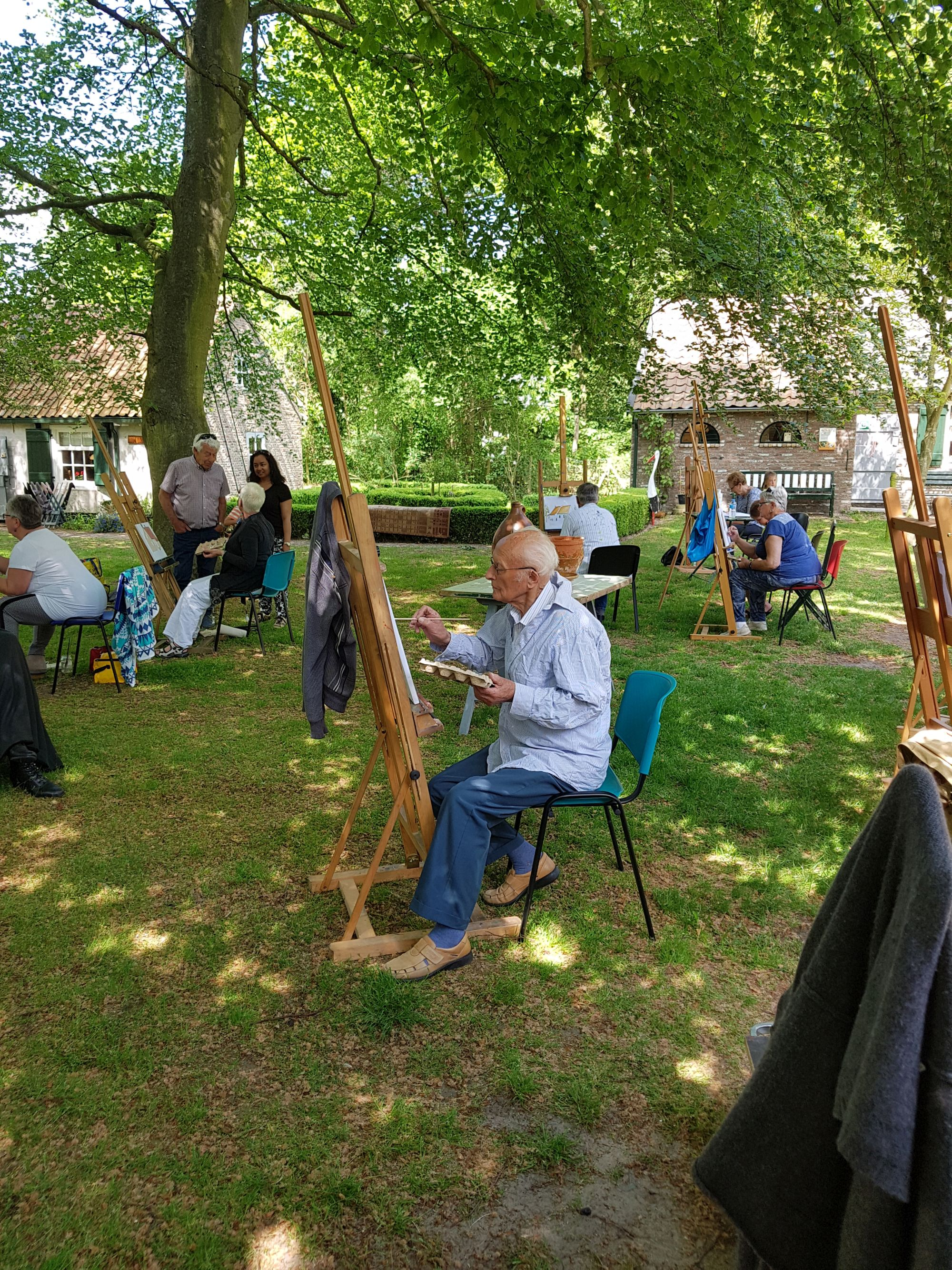 workshop schilderen